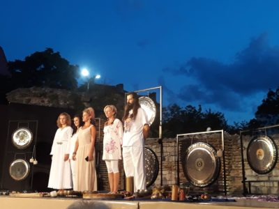 Gong concert under the stars